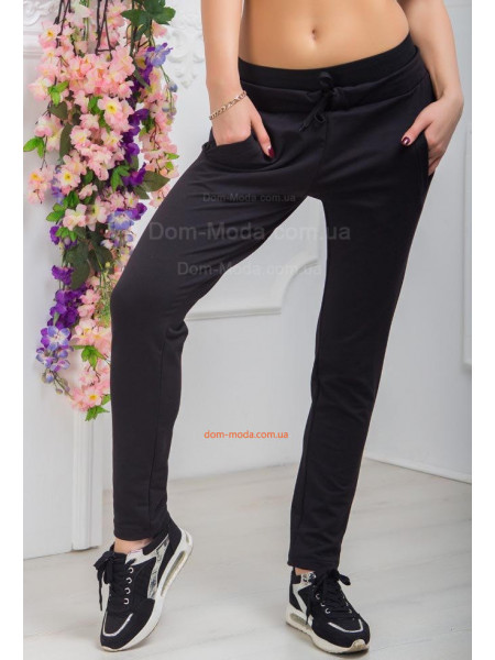 Чорні спортивні штани жіночі