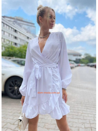 Легке плаття з імітацією запаху