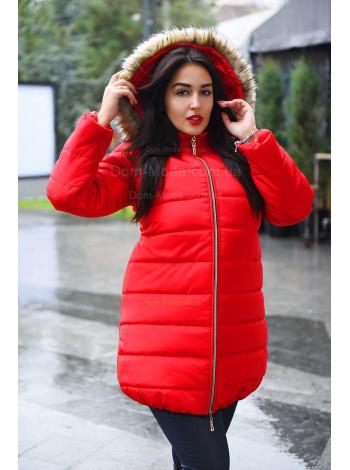 """Женская куртка на синтепоне с капюшоном """"Тайра"""""""
