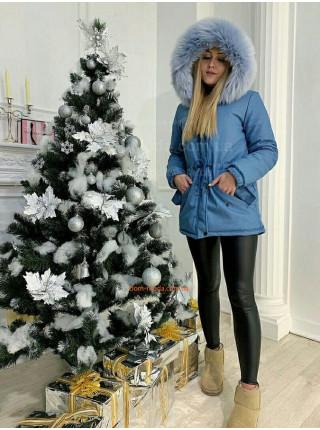 """Женская зимняя парка с эко мехом """"Декабрь"""""""