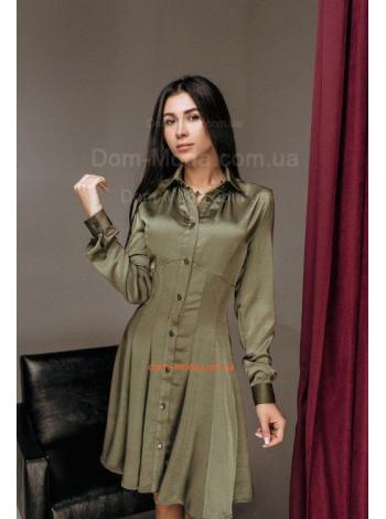 Вечернее платье рубашка