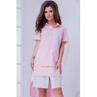 Коротке літнє жіноче плаття рубашка: норма і ботал