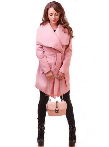 Модне пальто з кашеміру на запах норма і батал