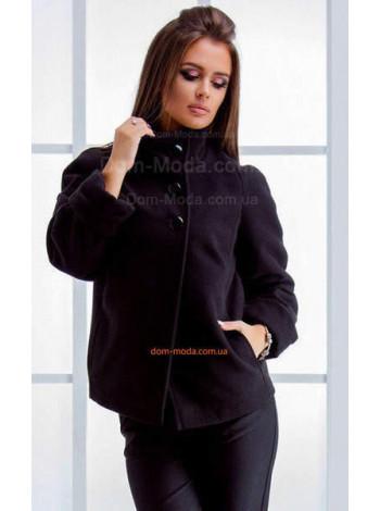 Коротке пальто кашемір норма і батал