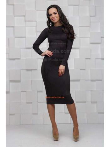 Стильное платье женское с длинным рукавом