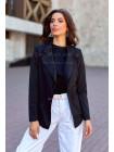 Женский трикотажный пиджак