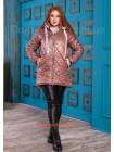 Куртка на овчине женская большого размера
