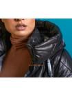Зимова куртка жіноча подовжена великого розміру