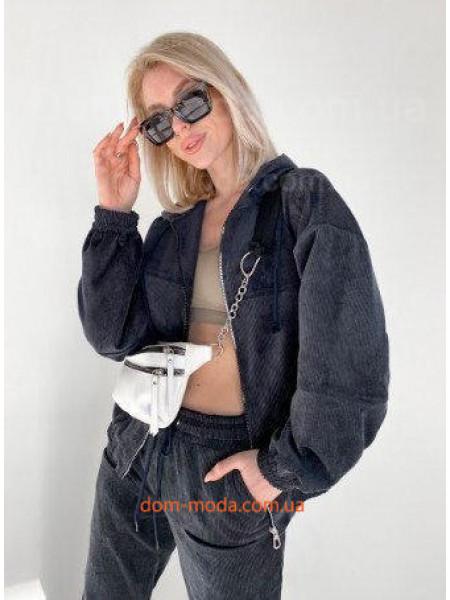 Вельветова куртка жіноча