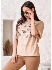 """Женская модная футболка """"Бабочки"""""""