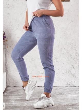 Вельветовые штаны женские