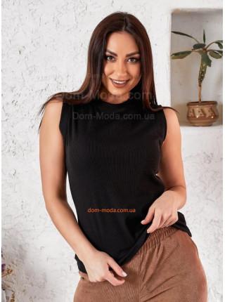 Женская футболка без рукавов