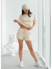 Женский летний спортивный костюм с шортами
