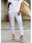 Літні спортивні штани жіночі великого розміру