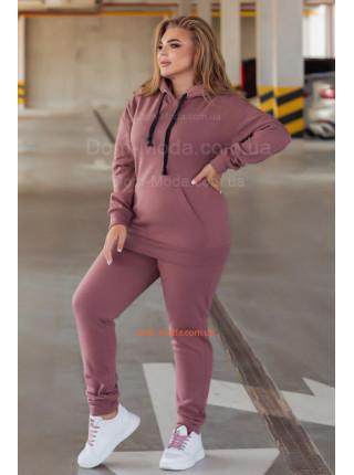 Теплі жіночі спортивні штани на флісі