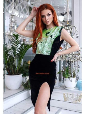 Женское сексуальное платье с откровенным вырезом