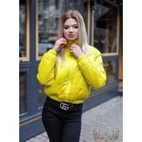 """Короткая модная осенняя куртка на синтепоне """"Катя"""""""