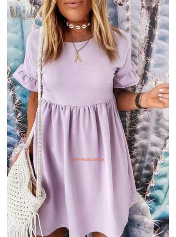 Женское летнее платье свободного силуэта