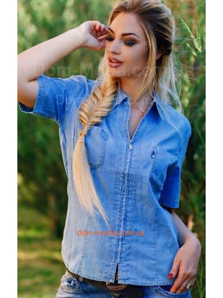 Рубашки джинсовые в магазине dom-moda.com.ua  40b55cdad6a67
