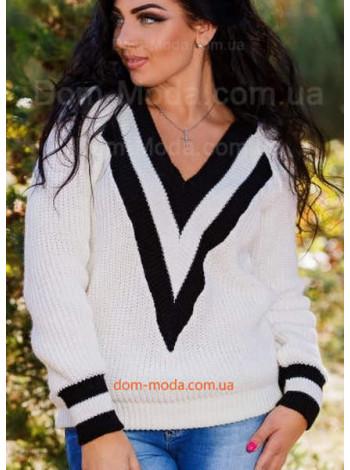 """Жіночий молодіжний светр великого розміру """"Хьюго"""""""