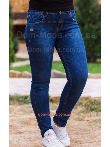 Жіночі стильні джинси синього кольору великого розміру ... 0aee46a6ce1a0
