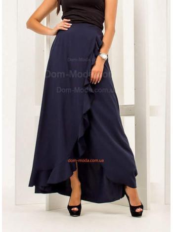 Жіноча юбка з запахом в пол