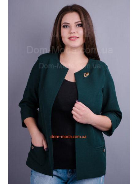 Модный пиджак для пышных женщин