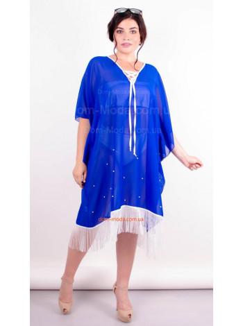 Пляжне жіноче плаття туніка великого розміру