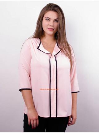 Женская модная блузка с рукавом для полных девушек
