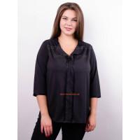 Жіноча модна блузка із рукавом для повних дівчат