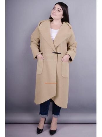 Модне жіноче кашемірове пальто кардиган без підкладки для повних