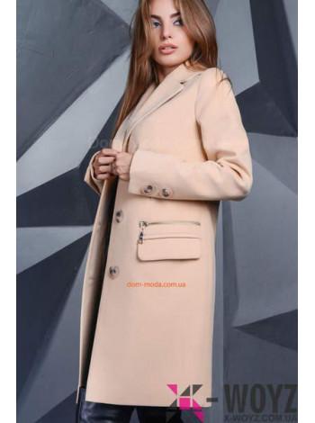 """Жіноче модне пальто на ґудзиках """"Просто Марія"""""""