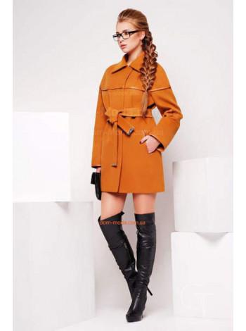 """Женское модное молодежное короткое пальто """"Симона"""""""