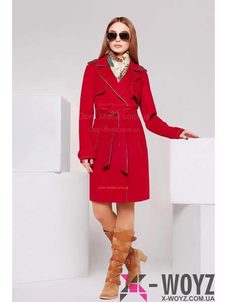 """Жіноче стильне пальто плащ """"Юпітер"""""""