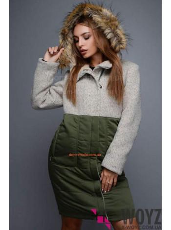 "Тепле жіноче зимове пальто ""Сатурн"""