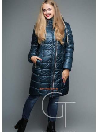 Зимове жіноче пальто за коліно Зимове жіноче пальто за коліно f5f3345e2b086