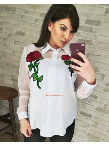 """Стильная женская блузка """"Naomi"""""""