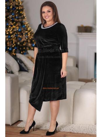 """Женское стильное платье """"Черное"""""""