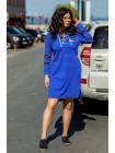 Модное женское спортивное платье для полных