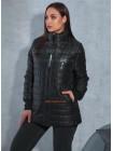 Жіноча осіння куртка для повних
