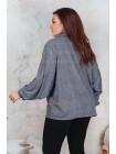 Женская модная кофта большого размера с принтом