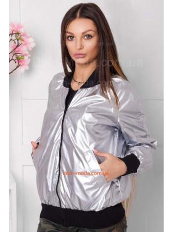 Модная куртка бомбер женская