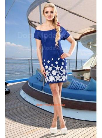Женское летнее платье из турецкого трикотажа