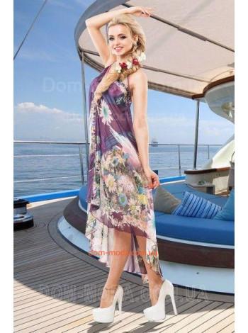 """Летнее платье туника для пляжа """"Богиня"""""""
