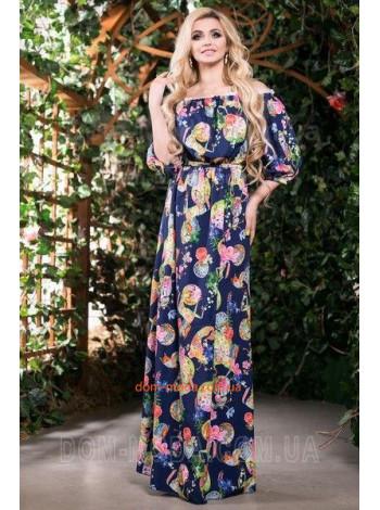 """Модное длинное платье в пол """"Кармелита"""""""