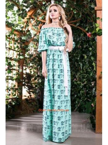 """Длинное летнее платье для женщин """"Chanel"""""""