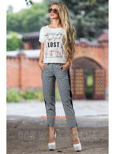 """Женские укороченные брюки """"Стиль"""""""