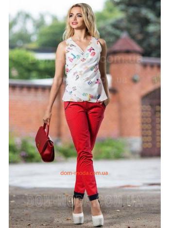 """Стильная женская блузка """"Модный принт"""""""
