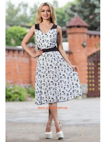 """Модное платье с открытой спиной """"Пальмира"""""""