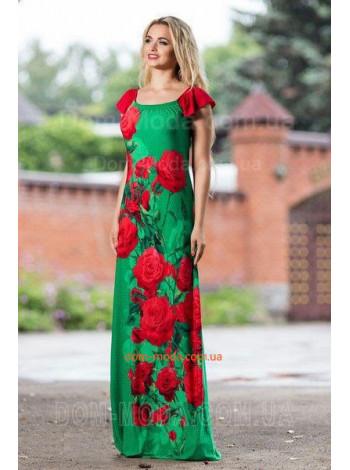"""Длинный женский сарафан """"Rose"""""""